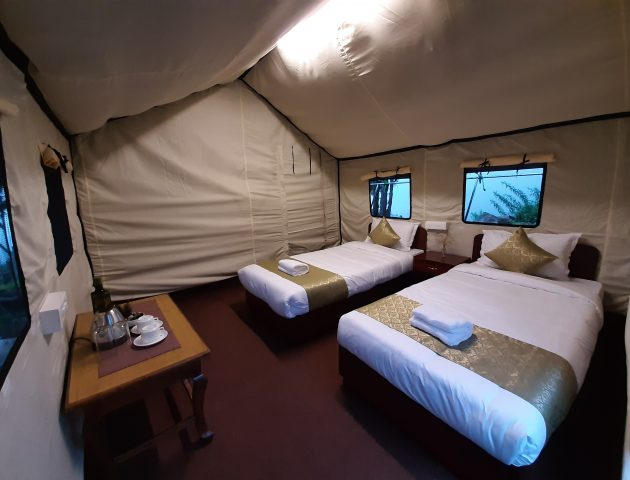 Camp-Lachung-Twin-Beds