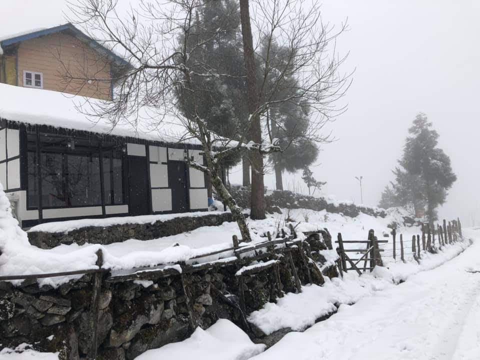 Camp Lachung Snow